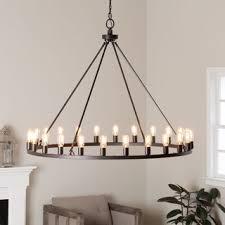hemsworth oil rubbed bronze 24 light chandelier pendant lighting living room