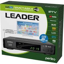 Цифровой ТВ ресивер <b>DVB</b>-<b>T2 Perfeo LEADER</b> (<b>DVB</b>-<b>T2</b>/C, Dolby ...