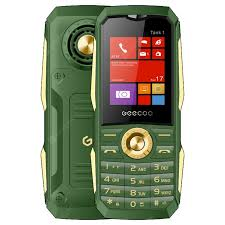 GEECOO Tank 1 2G Feature Phone 1.8 inch 1700mAh Detachable ...