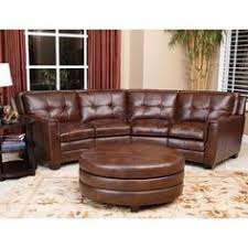 troy chestnut brown italian leather sectional sofa and ottoman overstock shopping big discounts on bedroomdelightful galerie bachmann modular system sofa george