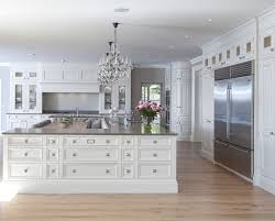 euro week full kitchen: ivory white kitchen paint color slaked lime  by little greene paint company ivory