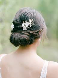 55 Simple <b>Wedding Hairstyles</b> That Prove Less Is More | Martha ...