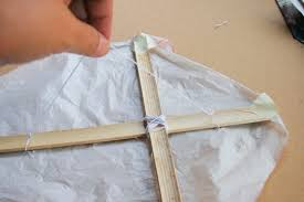 how to make an easy kite pictures wikihow make a diamond kite