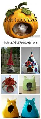 felted cat caves whimsical sculpted cat bed ideas that make great gifts for cat lovers cat lovers 27 diy solutions