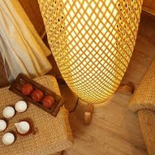 wholesale creative chinese style bamboo floor lamps rustic floor lamp ikea lamparas de pie led bulb free ac100 240v e27 light fixture bamboo lighting fixtures
