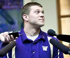 Washington QB Jake Locker said Tuesday that he is more comfortable dealing with the media. - 2004321051