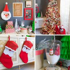 <b>Santa Claus</b> Themed <b>Christmas Tree</b> and Decor | Fun365
