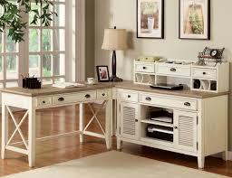 fine white home office design using modular desk captivating home office desk