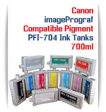 <b>Canon PFI</b>-704 Compatible Printer Ink Cartridges