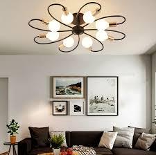 Nordic bedroom <b>ceiling lamp</b> Modern <b>American country</b> style ...