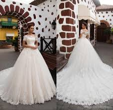 <b>Custom Made</b> Country <b>Glamorous</b> Lace <b>Appliques</b> A-Line Wedding ...