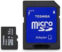 Toshiba Micro 32GB Secure Digital Micro SD Class ... - Amazon.com