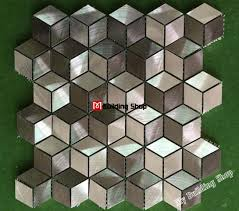 steel glass tile mosaic sheets metal d metal mosaic stainless steel tile backsplash smmt metallic stainless