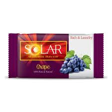 <b>Мыло хозяйственное SOLAR</b> Виноград <b>250</b> г — купить в ...