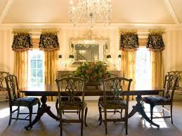 pretty hanging lamp above calm dining set near elegant dining room curtains model chic crystal hanging chandelier furniture hanging