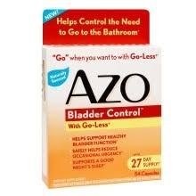 AZO <b>Bladder Control</b>, Capsules | Walgreens