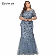 <b>Dower Me 2019 Summer</b> Trumpet Dress 5 Colors Fashion O Neck ...