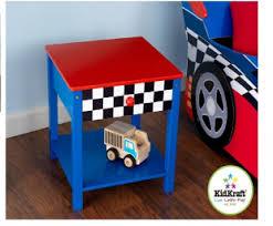 """<b>KidKraft Прикроватный столик</b> """"Гоночная машина"""" (Race Car Side ..."""