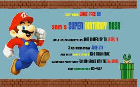 mario party invitations gangcraft net happy birthday mariostyle profoundly ordinary party invitations