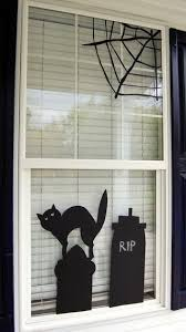 love halloween window decor: halloween window decor on studio
