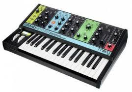 Аналоговый <b>синтезатор Moog Grandmother</b> купить в Санкт ...