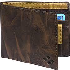 LUXIQE <b>Classic PU</b>-<b>Leather</b> Brown Wallet/Purse for <b>Men</b>/Boys ...