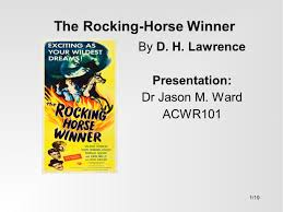 compare and contrast essay on the rocking horse winner essay the rocking horse winner essay