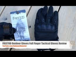 FREETOO <b>Outdoor Gloves</b> Full Finger <b>Tactical Gloves</b> Review ...