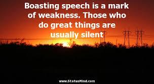 Boasting Quotes. QuotesGram via Relatably.com