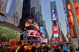 Times Square - Busy NYC