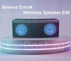 <b>Колонка</b> Bluetooth с подсветкой <b>Baseus Encok Wireless</b> Speaker E08