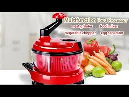 KCASA KC-MFP1 <b>Multifunction Food Processor</b> Kitchen Manual ...