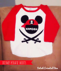 detail oriented diva disney pirate shirts
