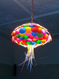 colored paper jellyfish and light shades on pinterest childrens pendant lighting
