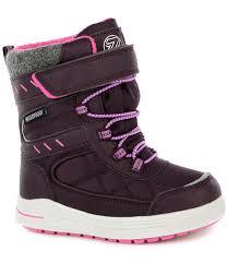 <b>Ботинки Зебра утепленные</b> (фиолетовые) - купить в интернет ...