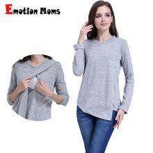 <b>Emotion Moms Fashion Maternity</b> Clothes long sleeve Maternity tops ...