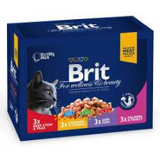 Консервы и <b>паучи Brit Premium</b> для кошек купить в Украине ...