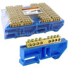 <b>Колодка клеменная N</b>, 8 контактов, TDM Electric SQ0801-0031, с ...
