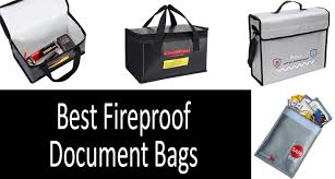 Best <b>fireproof document bags</b> | <b>portable</b> & reliable. Buyer's Guide