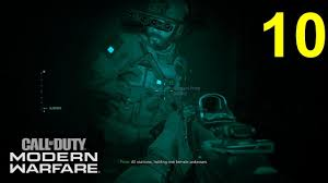 Call of Duty Modern Warfare Campaign Mission #10 The Wolf