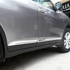 Хром <b>молдинг боковых дверей</b> (ABS, логотип) Nissan X-Trail ...