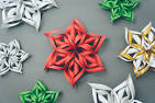 diy snowflakes paper easy 3d software