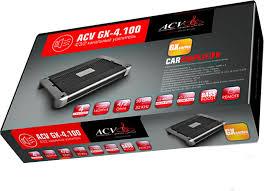 <b>Автомобильные усилители ACV GX-4.100</b> в Астрахани от ...