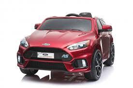<b>Детский электромобиль Dake Ford</b> Focus RS Wine Red 12V 2.4G ...