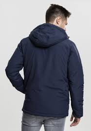 <b>Куртка</b> URBAN <b>CLASSICS Padded</b> Pull Over <b>Jacket</b> Navy купить в ...