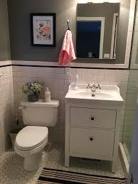 bathroom vanity mirror ideas modest classy: ikea hemnes bathroom vanity  ikea hemnes bathroom vanity