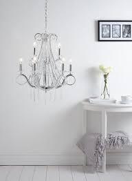 trinity 9 light chandelier bedroom chandelier beaded crystal light clear chrome bhs bedroom chandelier lighting