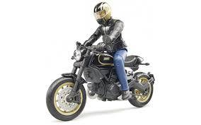 Купить <b>Bruder</b> 63-050 <b>Мотоцикл Scrambler Ducati</b> Cafe Racer с ...