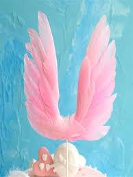 Buy 1 Pc Cake <b>Topper</b> Swan Wing <b>Birthday Cake Decoration</b> ...