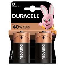 <b>Батарейка D</b> Duracell – это надежная долговечная батарейка